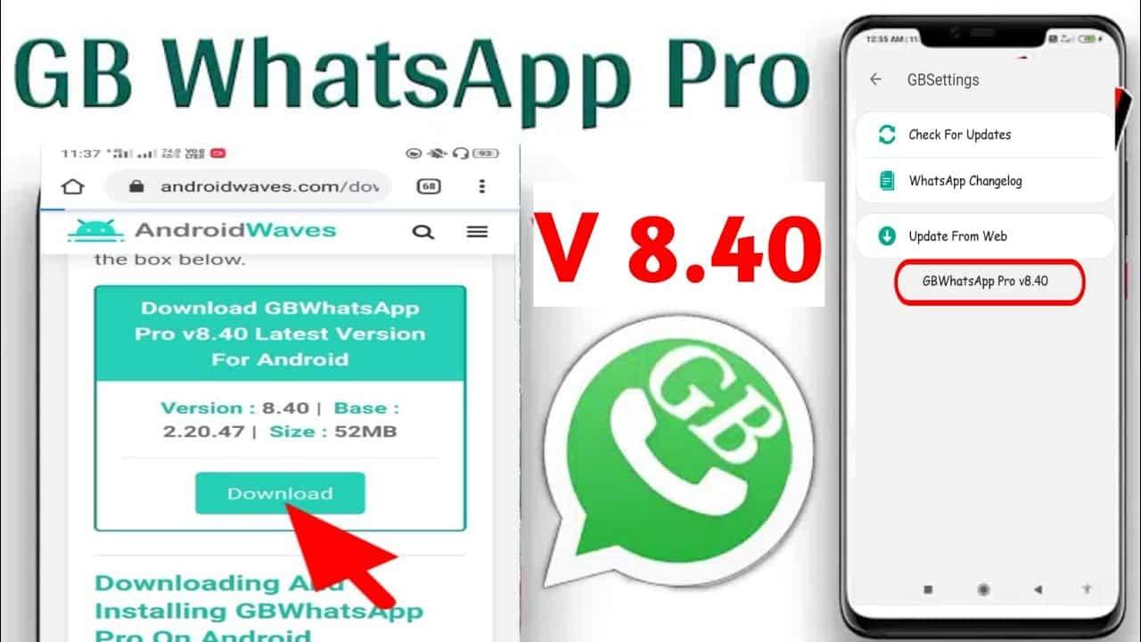Download Gb Whatsapp Apk Pro Versi Terbaru Anti Ban
