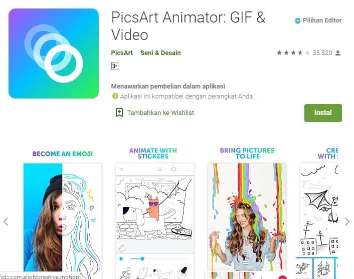 PicsArt-Animator-GIF-dan-Video
