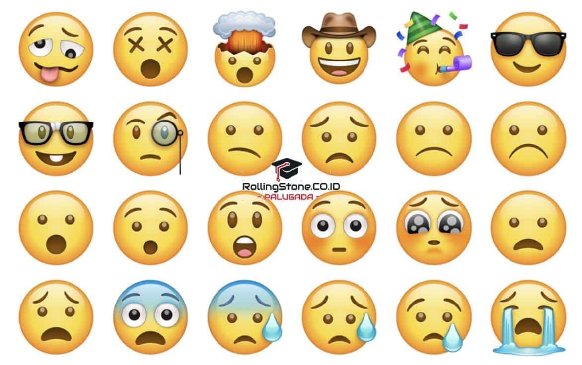 Emoji-Bervariasi